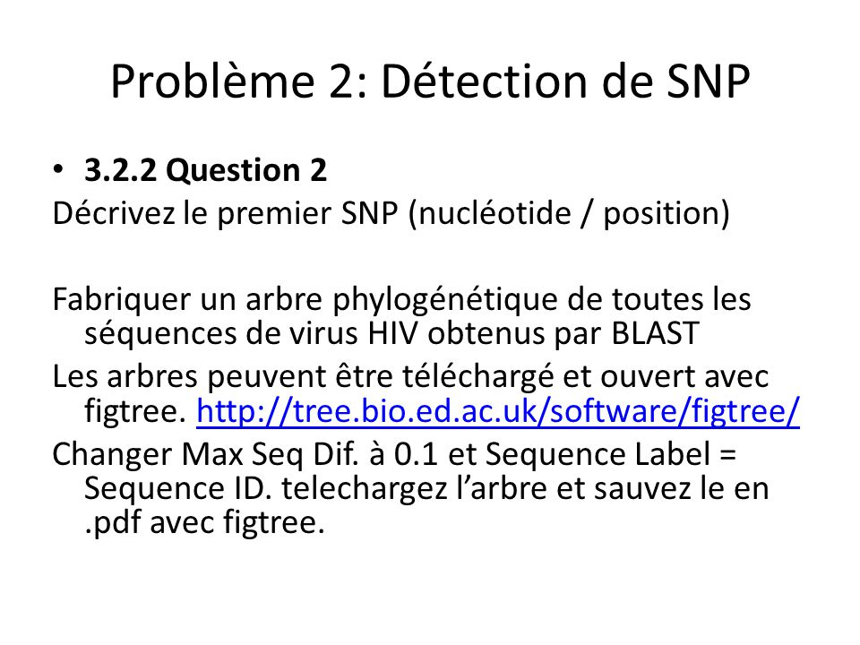 BLASTer des Séquences de Proteines 4.2.1 Problem 1 Click on the link indicated by P next to Protein–protein BLAST (blastp) to access the problem.
