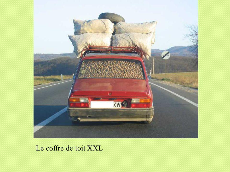 Le coffre de toit XXXL (en série limitée)