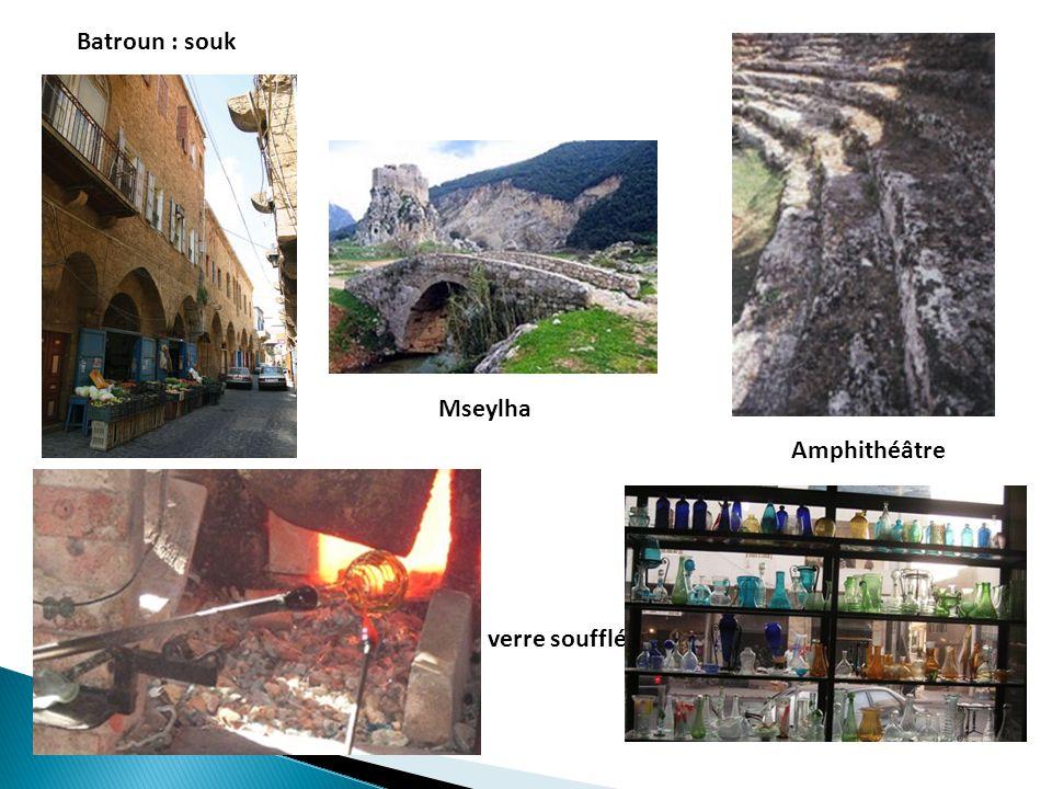 Byblos : vestiges, souk, port, fossiles