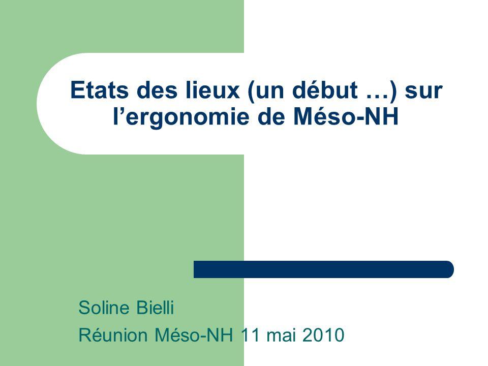 Téléchargement/Compilation Téléchargement Méso-NH : Sur le site Meso-NH on ne sait pas par où commencer … pas facile de « trouver » le fichier A-Install -> manque un « getting started » .