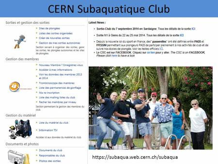 CERN Subaquatique Club