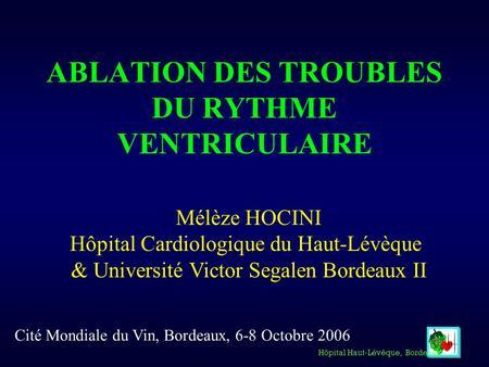 Trouble de la conduction cardiaque traitement