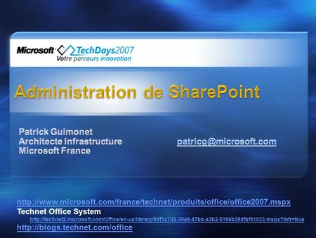 Technet Office System