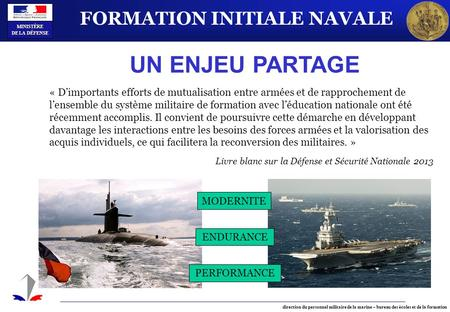 FORMATION INITIALE NAVALE