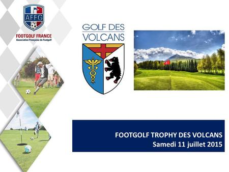 FOOTGOLF TROPHY DES VOLCANS