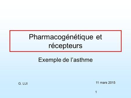 prednisone et asthme