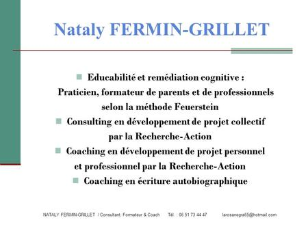 Nataly FERMIN-GRILLET