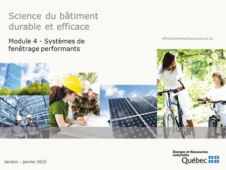 Science du bâtiment durable et efficace