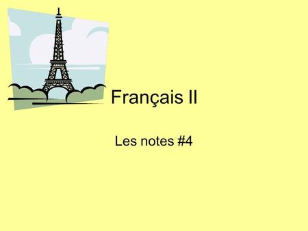 Français II Les notes #4. Object pronoun rules: REGULAR Object pronouns receive the action of the verb (indirect or direct) Object pronouns go immediately.