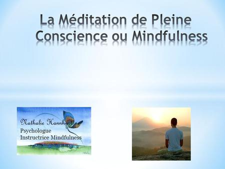 Nathalie Hannhart Psychologue Instructrice Mindfulness.