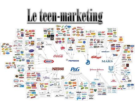 Tout d'abord « teen-marketing » signifie Publicité ciblée. L'expression « teen-marketing » désigne les pu-blicités adressées aux jeunessur Internet. Appliquées.