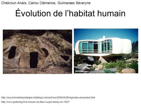evolution de l habitat travers les ges ppt video online t l charger. Black Bedroom Furniture Sets. Home Design Ideas