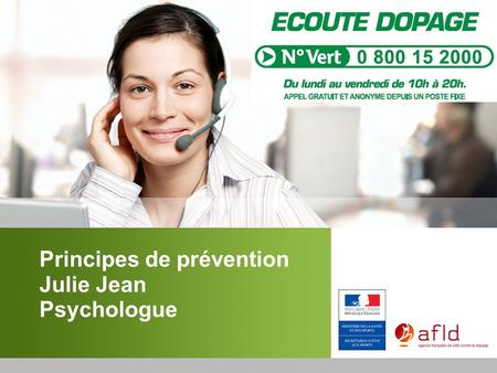 Principes de prévention Julie Jean Psychologue