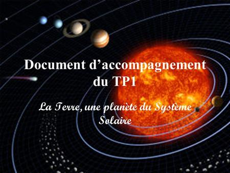 Document d'accompagnement du TP1