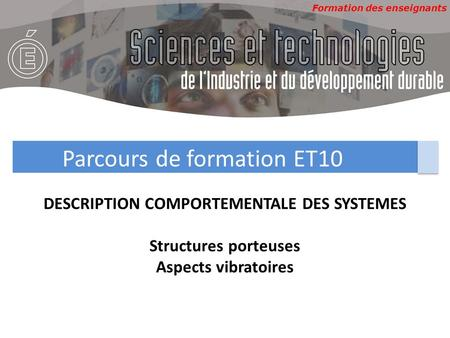 DESCRIPTION COMPORTEMENTALE DES SYSTEMES
