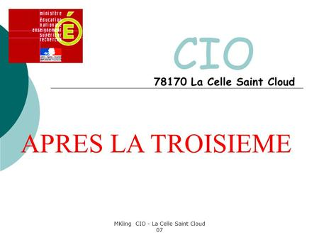 MKling CIO - La Celle Saint Cloud 07