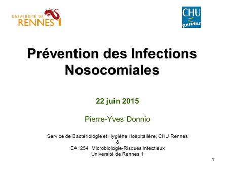 Prévention des Infections Nosocomiales