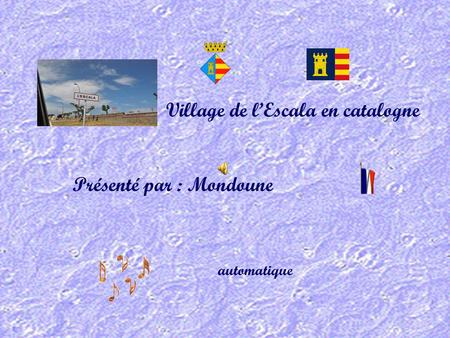 Village de l'Escala en catalogne