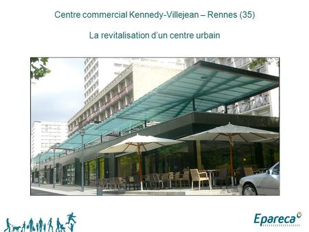 Centre commercial Kennedy-Villejean – Rennes (35)