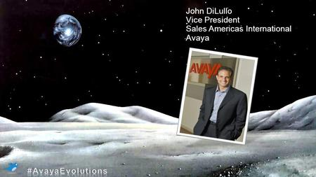 PALAIS DES CONGRÈS MONTRÉAL | JEUDI 16, 02/ 2012 | MONTRÉAL MOON only as background Jhon dilullo and title John DiLullo Vice President Sales Americas International.
