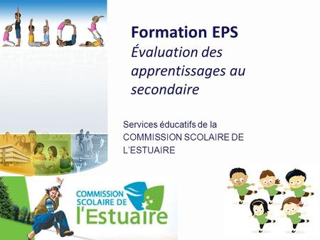 Formation EPS Évaluation des apprentissages au secondaire