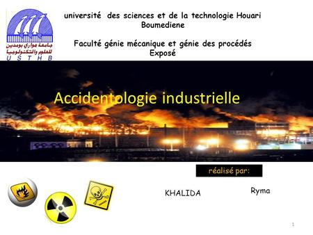 Accidentologie industrielle