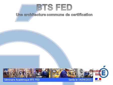 Une architecture commune de certification