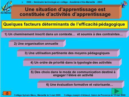 Introduction g n rale pour le coll ge ppt t l charger - College joseph d arbaud salon de provence ...