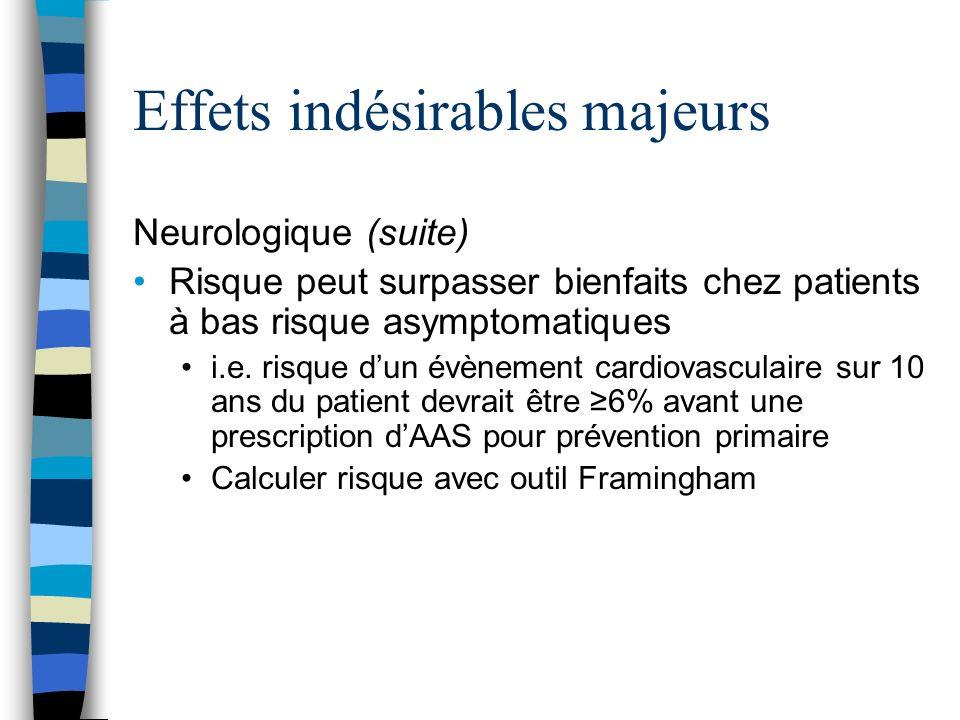 Maladie respiratoire exacerbée par laspirine Inhibition du COX-1 peut rediriger la dégradation dacide arachidonique vers le trajet des leukotriènes Pas via IgE (i.e pas une vraie hypersensibilisation)