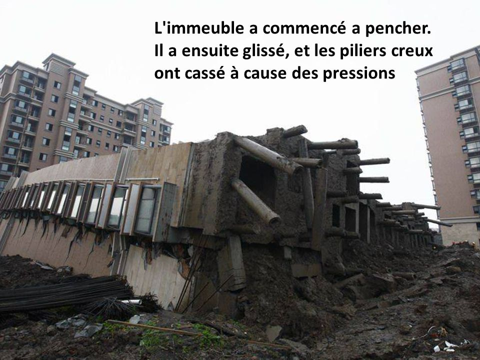 Si les autres immeubles avaient été plus près, il y aurait eu un effet domino.