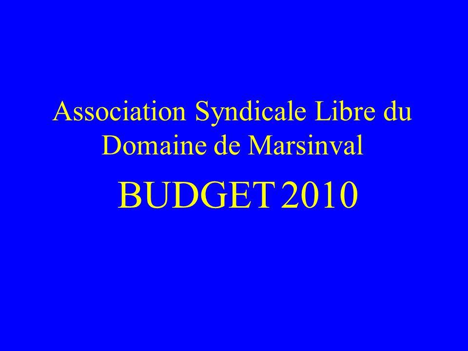 Budget 2010 Stratégie Financière Augmentation minime des charges.