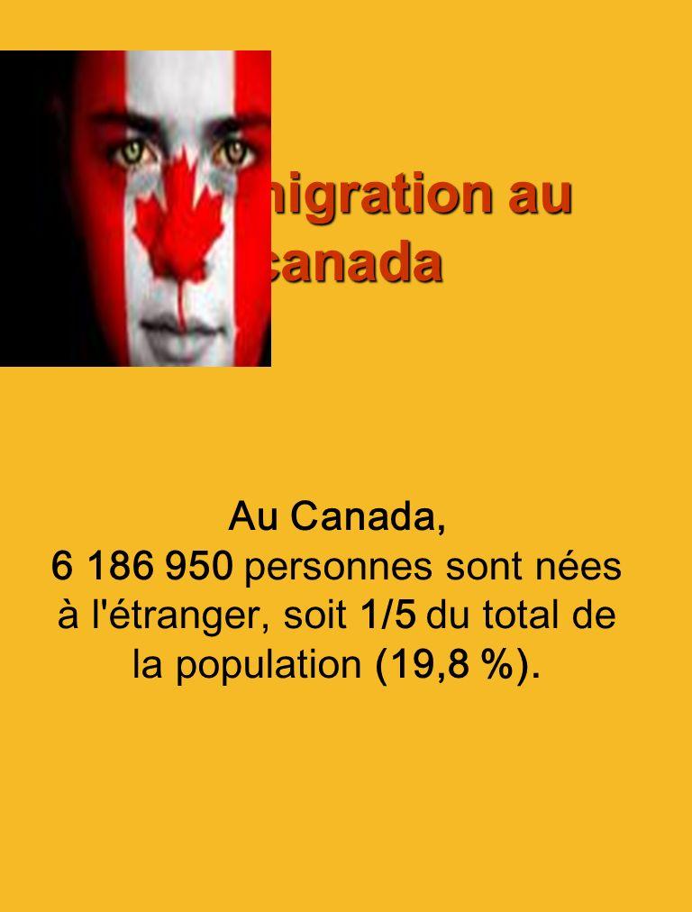 Limmigration au Québec