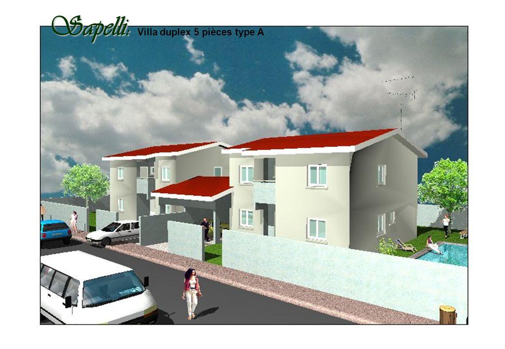 Sapelli: Sapelli: Villa duplex 5 pièces type A