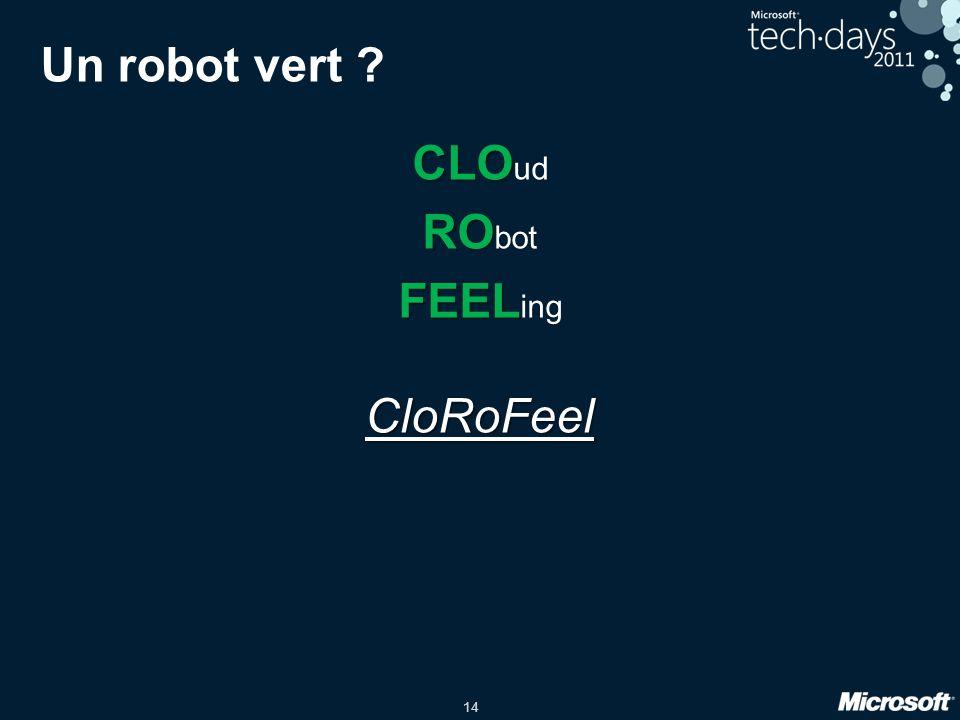 15 Le Robot CloRoFeel