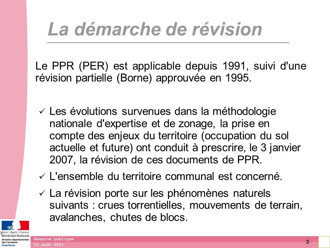 4 11 août 2011 Réunion publique 4 Qu est-ce qu un plan de prévention des risques .