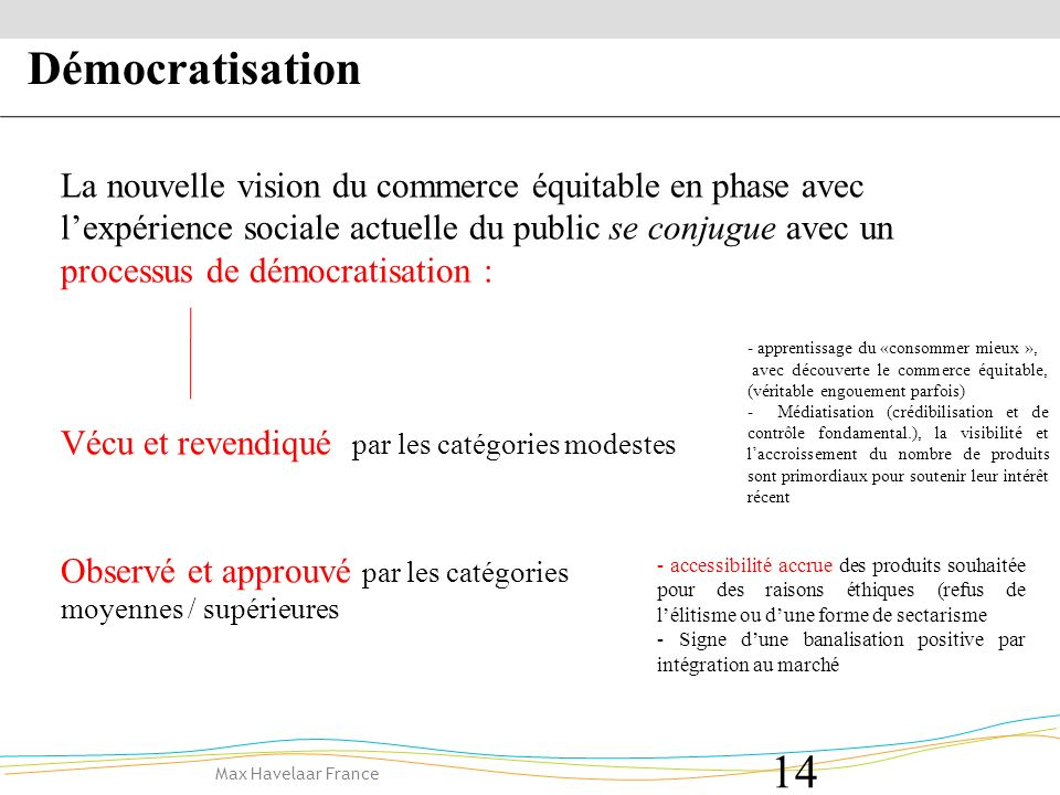 Max Havelaar France 15 Conclusions