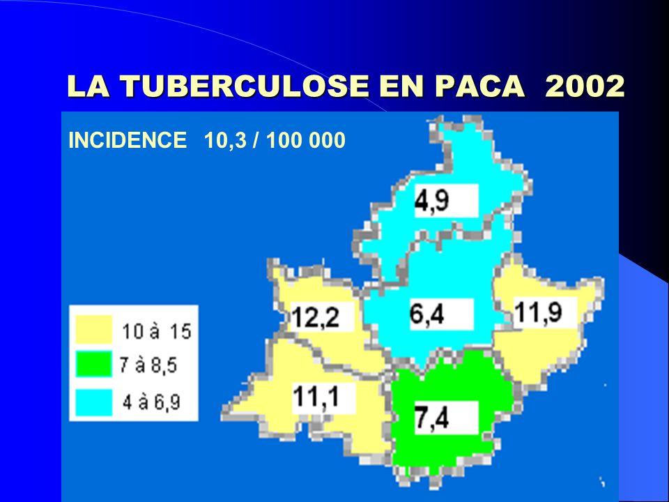 LA TUBERCULOSE EN PACA (2002)