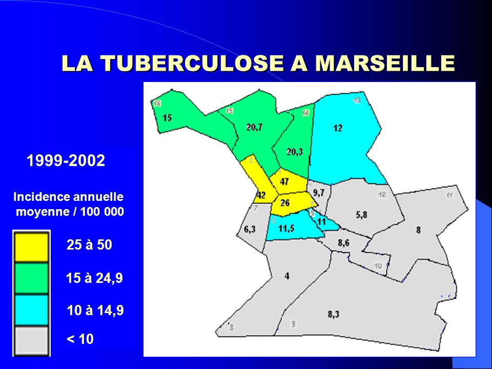 TUBERCULOSE INFECTION MARSEILLE