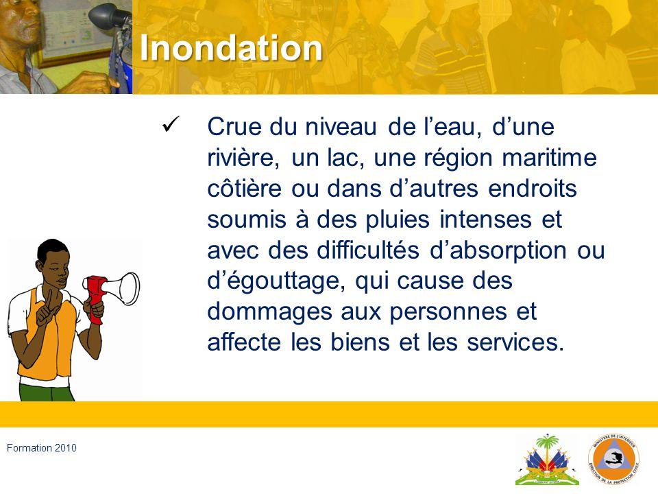 Haïti, septembre 2008 Formation 2010 Sécheresse Période de manque dhumidité de la terre, qui est insuffisante pour les légumes, les animaux et les êtres humains