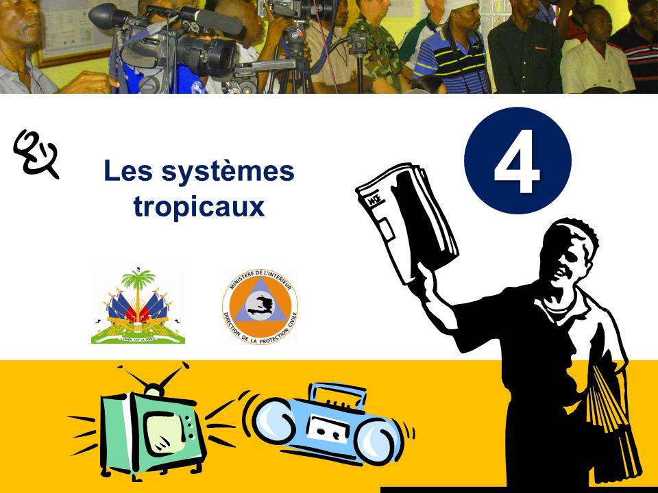 Haïti, septembre 2008 Formation 2010 Objectifs A la fin de la séance, le participant sera capable de décrire et dexpliquer les différentes parties dun cyclone Comprendre les dangers de louragan.