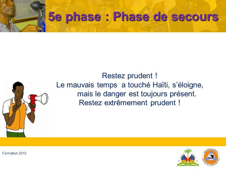 Haïti, septembre 2008 Formation 2010 Merci
