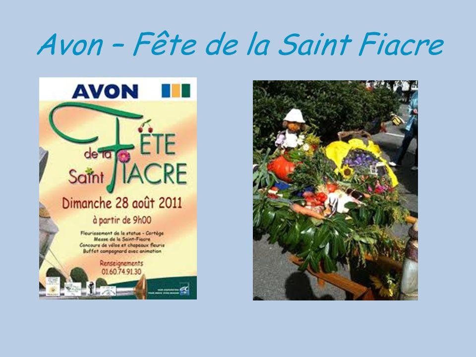 Avon – Fête de la Saint Fiacre