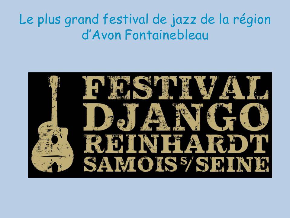 Le plus grand festival de jazz de la région d'Avon Fontainebleau