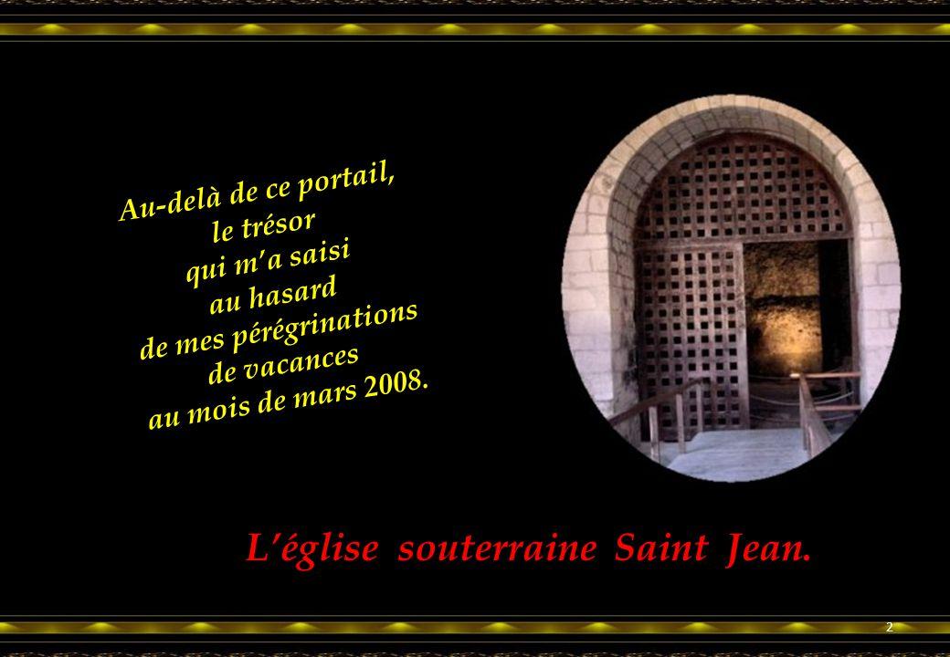 Au-delà de ce portail, le trésor qui m'a saisi au hasard de mes pérégrinations de vacances au mois de mars 2008.