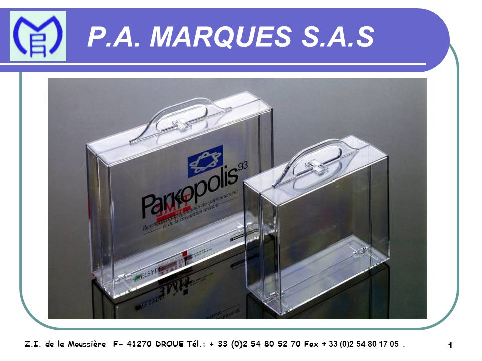 2 P.A.MARQUES S.A.S Z.I.