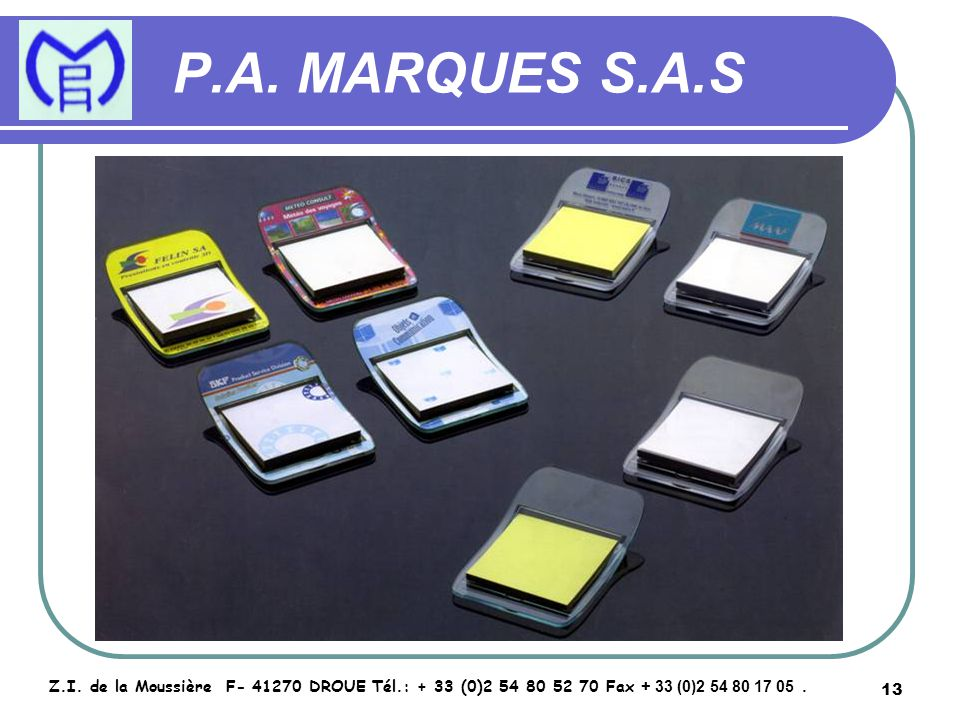 14 P.A.MARQUES S.A.S Z.I.