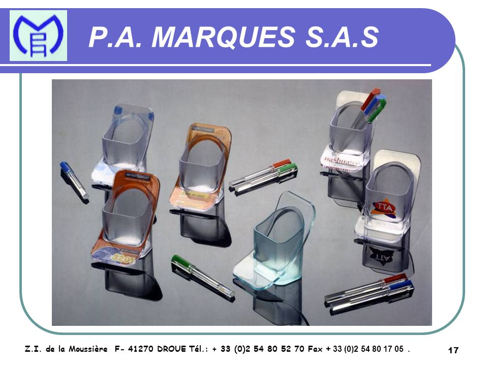 18 P.A.MARQUES S.A.S Z.I.