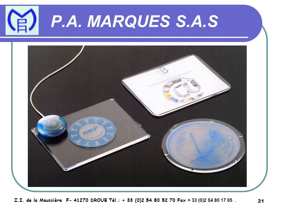 22 P.A.MARQUES S.A.S Z.I.
