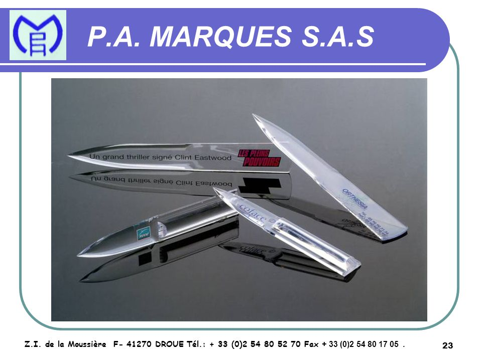 24 P.A.MARQUES S.A.S Z.I.