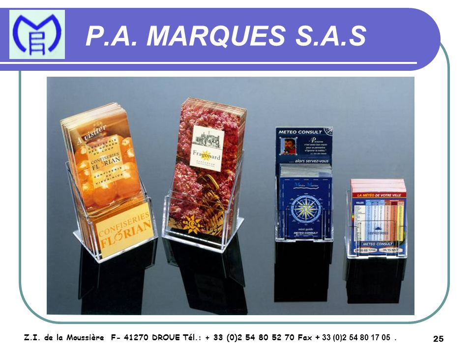 26 P.A.MARQUES S.A.S Z.I.